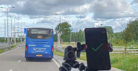 Bus Arriva op N207 (Foto: provincie Noord-Holland)