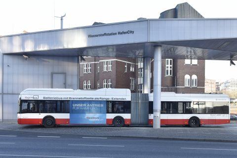 Waterstofbus (Bron: Hamburger Hochbahn)