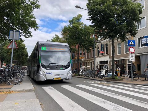 Bus in Groningen