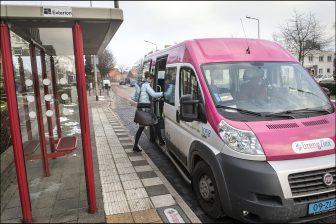 Busje van Breng Flex (Bron: ANP - Bert Heelen/HH)