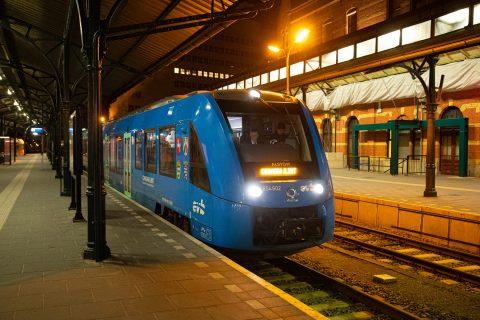 Alstom Coradia iLint waterstoftrein (foto: Alstom)