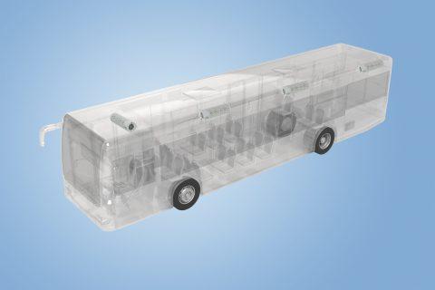 Luchtfiltratiesysteem in bus (bron: Webasto)