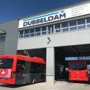 Elektrische bussen bij Dubbeldam