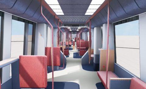 Nieuwe inrichting metro RET (bron: RET)
