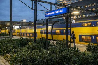 Trein op Eindhoven Centraal (bron: NS)