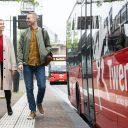 Bus van Keolis in Twente (foto: Robert Oosterbroek)