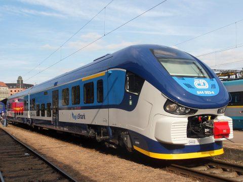 České Dráhy trein in Tsjechië (bron: Wikimedia Commons)