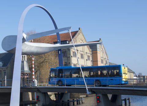 Bus Arriva in Friesland (bron: provincie Friesland)