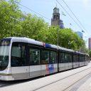Tram RET bij Coolsingel (bron: Rick Keus)