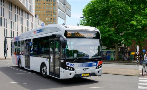 Elektrische bus RET (bron: Rick Keus)