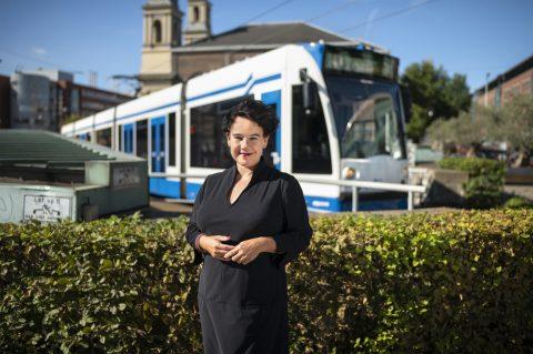 Sharon Dijksma (bron: Vervoerregio)