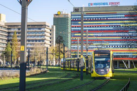 Tram U-OV op Utrecht Science Park (foto: ANP)
