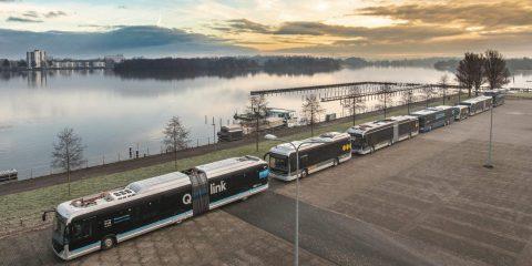 Bussen Qbuzz Groningen Drenthe (foto: OV-Bureau GD)
