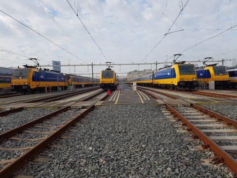 Intercity Den Haag Eindhoven op de Binckhorst (foto: NS)