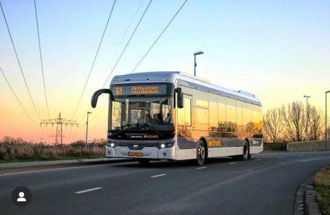 Qbuzz streekbus Ebusco Groningen Drenthe (foto: Ebusco)