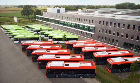 Elektrische bussen Connexxion (foto: Ebusco)