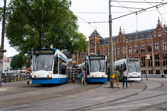 Trams GVB in Amsterdam (foto: Ge Dubbelman)