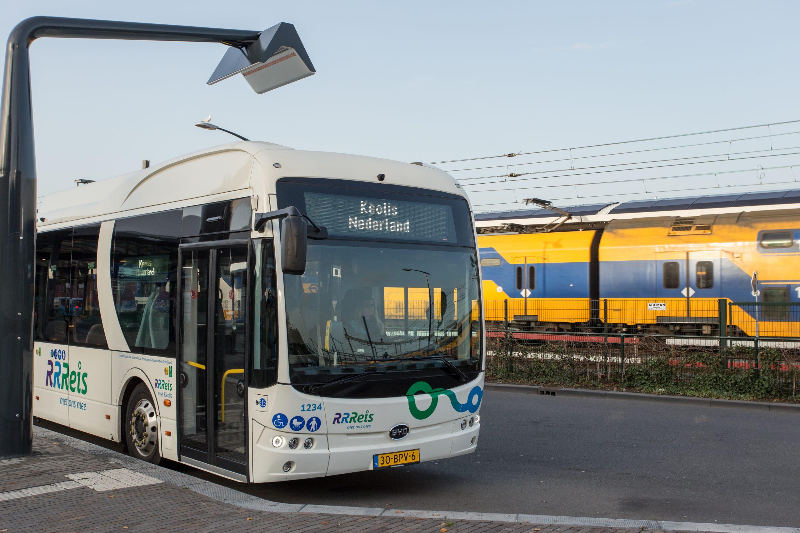 Elektrische bus RRReis IJssel-Vecht (foto: Keolis)