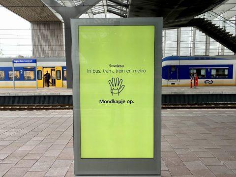 Rotterdam Centraal coronamaatregelen