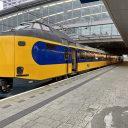 NS-trein op Rotterdam Centraal