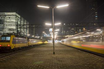 Intercity Den Haag-Eindhoven avond (foto: NS)