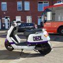 Deelscooter voor Arriva bus in Breda