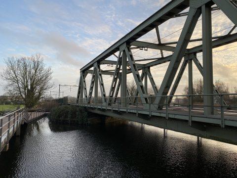 Spoorbrug Schiedam