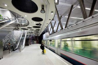 Metrostation Wilhelminaplein (foto: E. Fecken/RET)