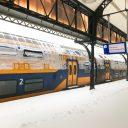 Station Nijmegen sneeuw (foto: NS)