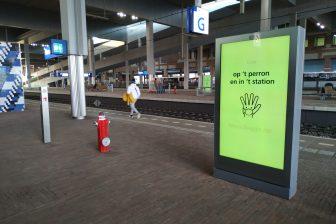 Station Breda in coronatijd