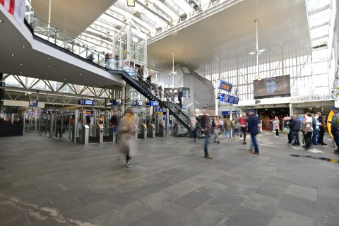 Station Leiden Centraal (foto: NS)
