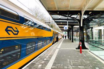 Trein op station Driebergen-Zeist (foto: NS/Arno Leblanc)