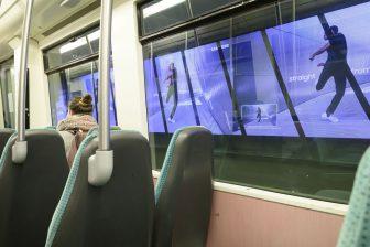 Tunnelreclame metro RET (foto: RET/R. Keus)