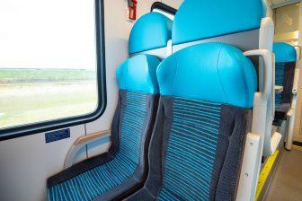 Stoel WINK-trein Arriva (foto: Arriva)