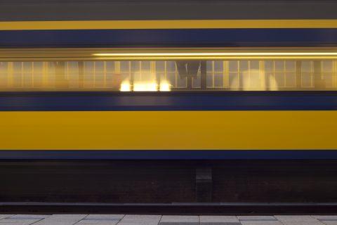Passerende trein NS (foto: NS)