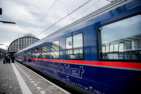 NS en ÖBB gestart met nachttrein Amsterdam-Wenen | OVPro.nl