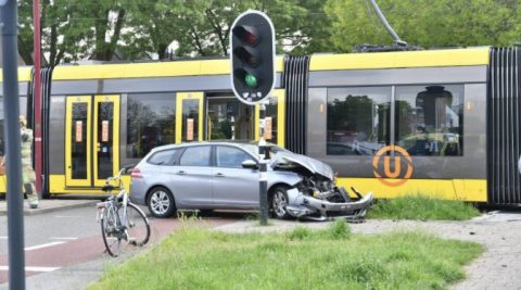 Aanrijding Nieuwegein (foto: Regiotram Utrecht)