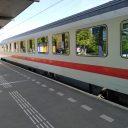 Deutsche Bahn trein naar Berlijn