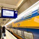 Reisinformatie station Amsterdam-Zuid (foto: NS)