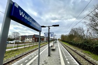 Station Waddinxveen (foto: Arno Leblanc/NS)