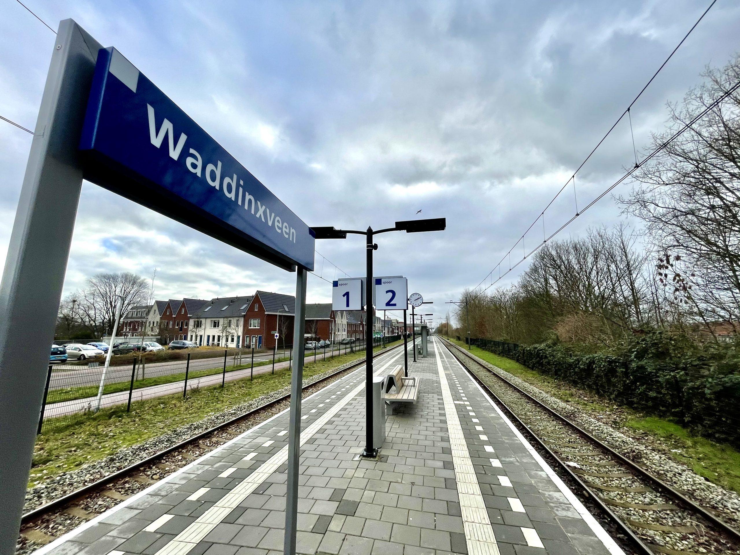 Station Waddinxveen (foto: Arno Leblanc/NS)