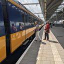 Reizigers station Amersfoort