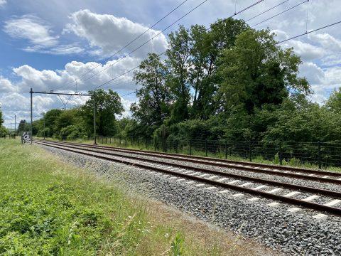 Spoor in Valkenburg aan de Geul