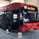 Elektrische bus bij Dubbeldam (foto: Dubbeldam)