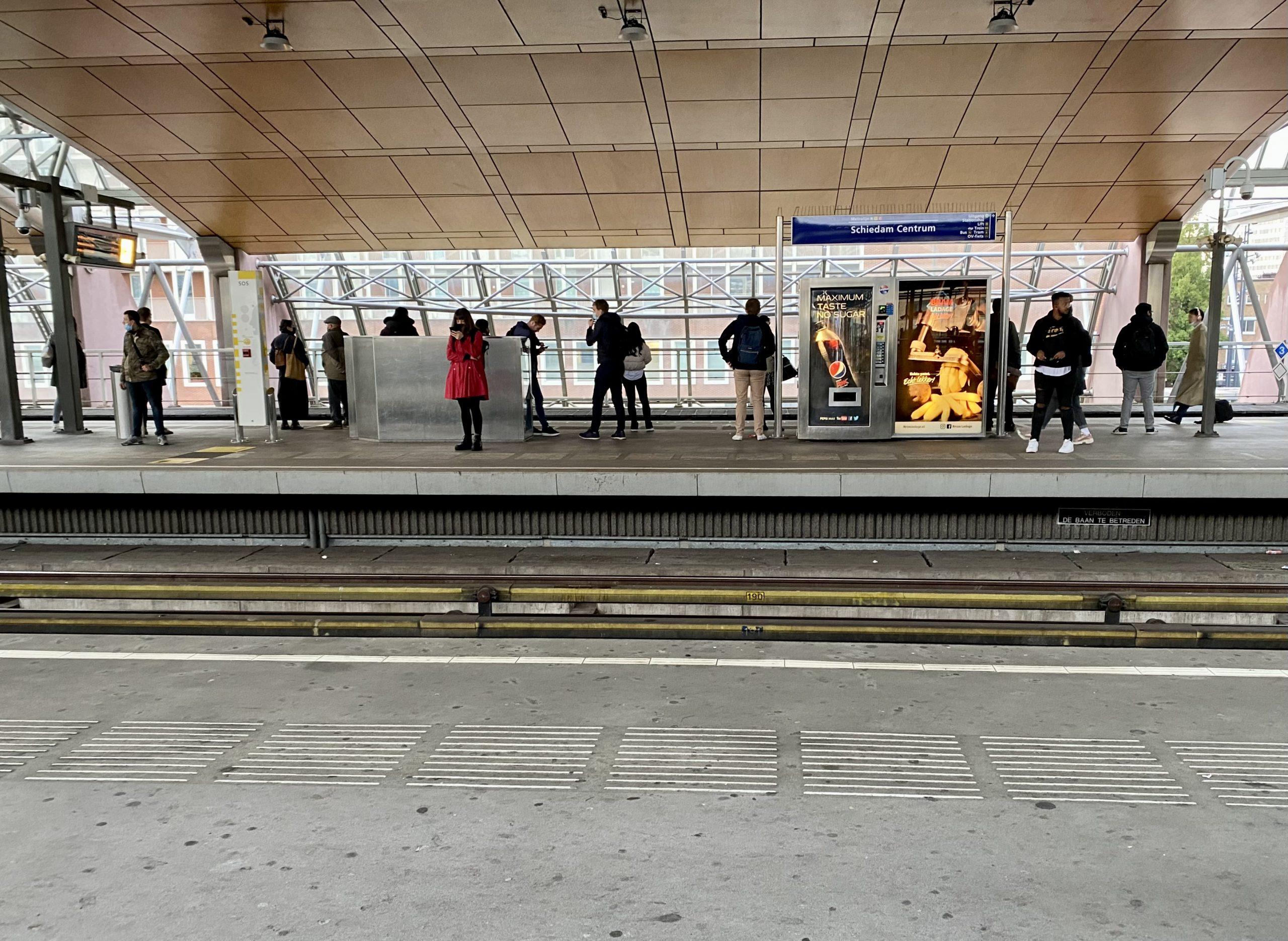 Reizigers Schiedam Centrum