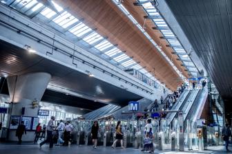 Metrostation Bijlmer Arena (foto: Thales)